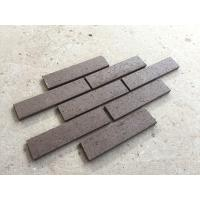 Buy cheap Exterior Thin Brick Veneer Wall Decoration Face Brick Veneer M36423 With Extruded from wholesalers