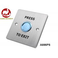 Waterproof Ip68 Push Button Switch , Non - Magnetic Round Request To Exit Switch Manufactures