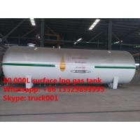 factory direct sale best price 80,000L bulk lpg gas storage tank for sale, 80  cubic meters propane gas storage tank Manufactures