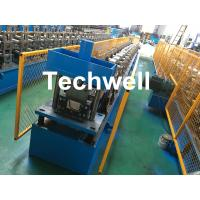 Steel Metal Gutter Roll Forming Machine For Making Rainwater Gutter & Box Gutter With PLC Frequency Control Manufactures