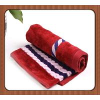 China supplier yarn dyed jacquard terry cotton hand towel with your logo Manufactures