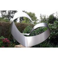 Simple Design Stainless Steel Brushed Modern Outdoor Metal Sculpture Manufactures