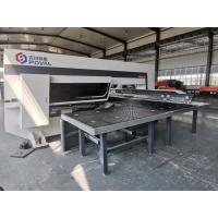 Stainless Steel Cnc Punch Press Machine 20kw Power High Stability One Year Warranty Manufactures