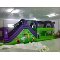 Residential Children PVC Inflatable Sports Games , Bounce Houses Manufactures