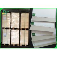 FSC white coated Duplex board 300GSM Smooth Surface For Soap Packaging