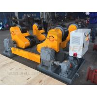 Self Aligned Welding Rotator 40 Ton Turning Capacity PU Rollers Inverter Speed Manufactures