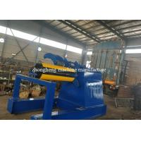 PPGI / GI / PPGL Hydraulic Decoiler For Color Steel Roof Sheet Roll Forming Machine Manufactures