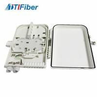 Quality 16 Ports FTTH Optical Fiber Distribution Box LC/SC Connectors Light Weight Wall for sale