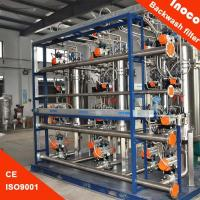 Quality Automatic Self Cleaning Commercial Water Filtration System For Liquid Purificati for sale