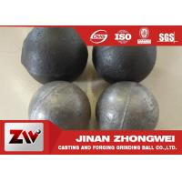 Cement plant use  forged and low chrome cast grinding ball / steel grinding balls Manufactures