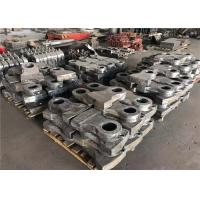 60hrc Hardness Bimetal Hammers Resin Sand Casting Process For Cement Plant Manufactures