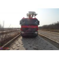Quality Water Capacity 4800kg Water Tower Fire Truck Max Loading 23700Kg With With Fully for sale
