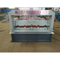4kw 380V PPGI Steel Tile Type Colorful Stone Coated Metal Roof Tile Roll Forming Machine Manufactures