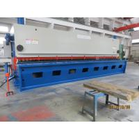 Sheet Metal Guillotine CNC Hydraulic Shearing Machine / Power Shearing Machine
