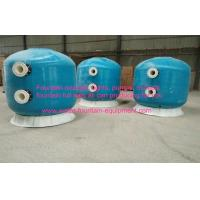Diameter 1600 Commercial Fibreglass Swimming Pool Sand Filters Pools Filtration With Oil Guage Plate Manufactures