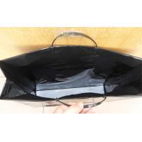 Reusable Hard Plastic Handle Bag With Reinforced Paper Card Manufactures
