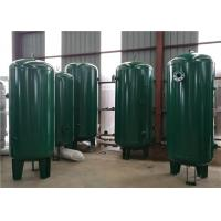 Stainless Steel Oxygen Storage Tank , Portable Storing Oxygen Containers Tanks Manufactures