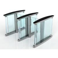 Stainless Steel Speed Gates, Pedestrian Airport Turnstile Access Control Manufactures