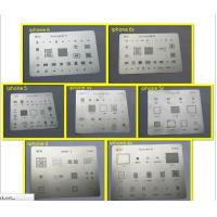 China iPhone4 4s 5 5c 5s 6 6p nand flash reballing stencil plate+baseband+eeprom scraping steel mesh,high quality,lot of 7pcs on sale
