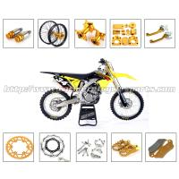 Gold Silver Dirt Bike Parts CNC Milling Accessories With Stainless Steel Or Plastic Material Manufactures