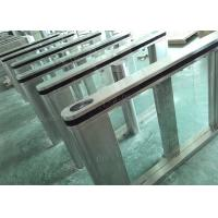 Walking Through Subway Entry And Exit Gate, Servo Driver Turn Stile Speed Gate Manufactures