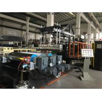 AF-1200 EVA / TPU Plastic  Sheet Extrusion Machine, Sheet  Extruder Machine, CE certificated, ISO9001 Manufactures