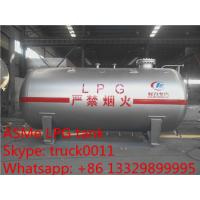 Quality CLW Brand mini 5,000L surface lpg gas storage tank for sale, ASME standard 5M3 bulk lpg gas storage tank for sale for sale