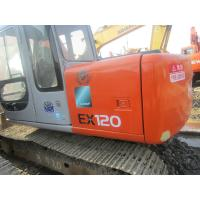 EX120 2 12 Tonne Second Hand Hitachi Excavator 81 Hp Net Power With 4 Cylinders Manufactures