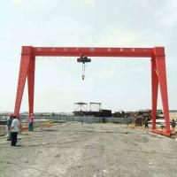 Shandong Province Taian Xintai City Wireless Remote Control Gantry Crane Manufactures