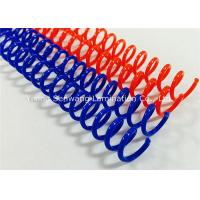 Quality Colorful  Spiral Binding Coils 48 Rings For Proposals, Reports, Manuals Binding for sale