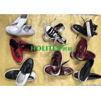 Women Clean Used Canvas Shoes , First Grade Second Hand Clothes Shoes Manufactures