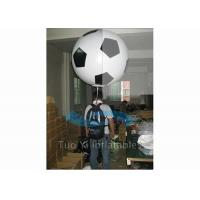Customized Soccer Shape Backpack Balloon Custom Printed Balloon For Advertisement Manufactures