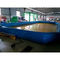 Attractive 0.9MM PVC Tarpaulin Inflatable Swimming Pool For Outdoor 1 Year Warranty Manufactures