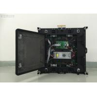 High Definition P4 LED Module Display Waterproof Cabinet With 1200 W/Sq.M Consumption Manufactures
