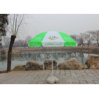 Handle Open Advertising Round Outdoor Umbrella With 210D Oxford Fabric Manufactures