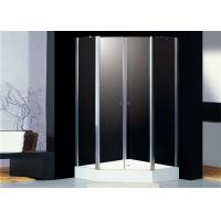 Two Doors Polygon Pivot Shower Enclosure 4mm Frosted Glass Shower Screen Manufactures