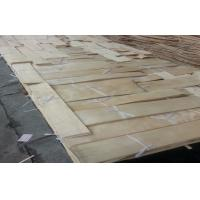 Quality natural sliced cut China maple wood veneer for furniture for sale