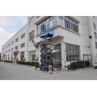 Quality Working Height Ma 14m Mobile Scissor Lift 450Kg Loading Capacity of Manual Pushing and Rain-proof Control Cabinet for sale