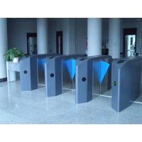 Flap barrier for high volum people flow security access control Manufactures