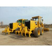 Quality Second Hand Compact Motor Grader Caterpillar 140 2800hrs Wihout Oil Leakage for sale