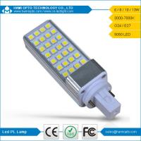 6W G24 LED Light, Energy Saving Cool White 500lm Epistar SMD5050 Led G24 Lights Bulbs Manufactures