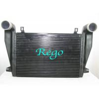 Quality Freightliner Water Cooled Truck Intercooler Core For Diesel Engine Black Color for sale