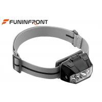 3 AAA Powered Outdoor LED Headlamp , 5 Gears Touch Sensor LED Bicycle Headlight Manufactures
