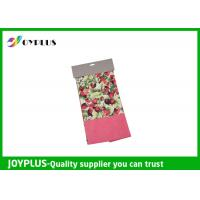 Non Woven Microfiber Cleaning Cloth Wth Printed Pattern Customized Color / Size Manufactures