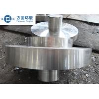 C45 Carbon Steel Hot Rolled  / Hot Forged Ring Normalizing for Gears Manufactures
