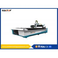 Stainless Steel CNC Fiber Laser Cutting Machine 800W CE &  ISO9001 Manufactures
