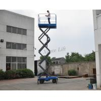 Customized Mobile Scissor Lift With Anti - Skid Platform 1.8 * 1m Manufactures
