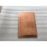 Lightweight Copper Composite Panel 600mm Width Fire Resistance With High Strength Manufactures