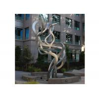 Fluttering Ribbon Abstract Modern Sculpture Abstract Metal Garden Sculptures Manufactures