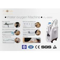 Skin Care Oxygen Facial Machine With Diamond Microdermabrasion White Color Manufactures